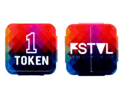 Festival Tokens - Full colour print