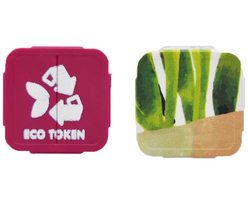 Eco Festival Tokens - Full colour print & 1 colour print