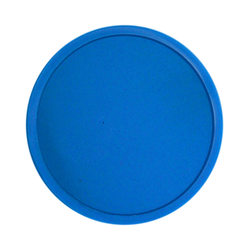 Fichas biodegradables lisas ø 38mm - Azul
