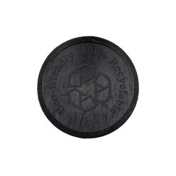 Embossed ECO-Tokens ø 29mm - Black - Eco design