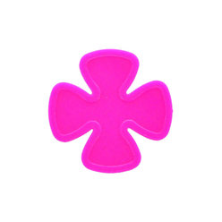Shamrock tokens - Pink