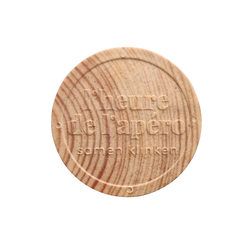 Wooden Token - Embossed - Personalised