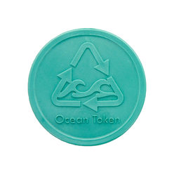 Embossed Tokens In Stock ø 29mm - Ocean Token