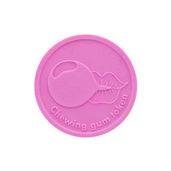 Chewing Gum Token : Round - Personalised