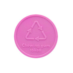 Chewing gum Token : Round - Personalised & Standard Designs