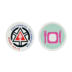 Printed Token : Round - Full colour print & Standard design